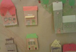 Postavíme si malé městečko z papíru