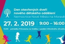 Den otevřených dveří dětského oddělení Nemocnice Nové Město na Moravě
