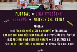 FLORBAL – ELÉVOVÉ, domácí turnaj (24. 10. 2021)