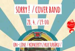Sorry ! – cover band – živě z kulturáku