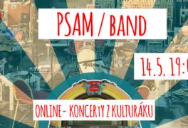 PSAM (Příležitostné sdružení amatérských muzikantů) – ONLINE STREAM